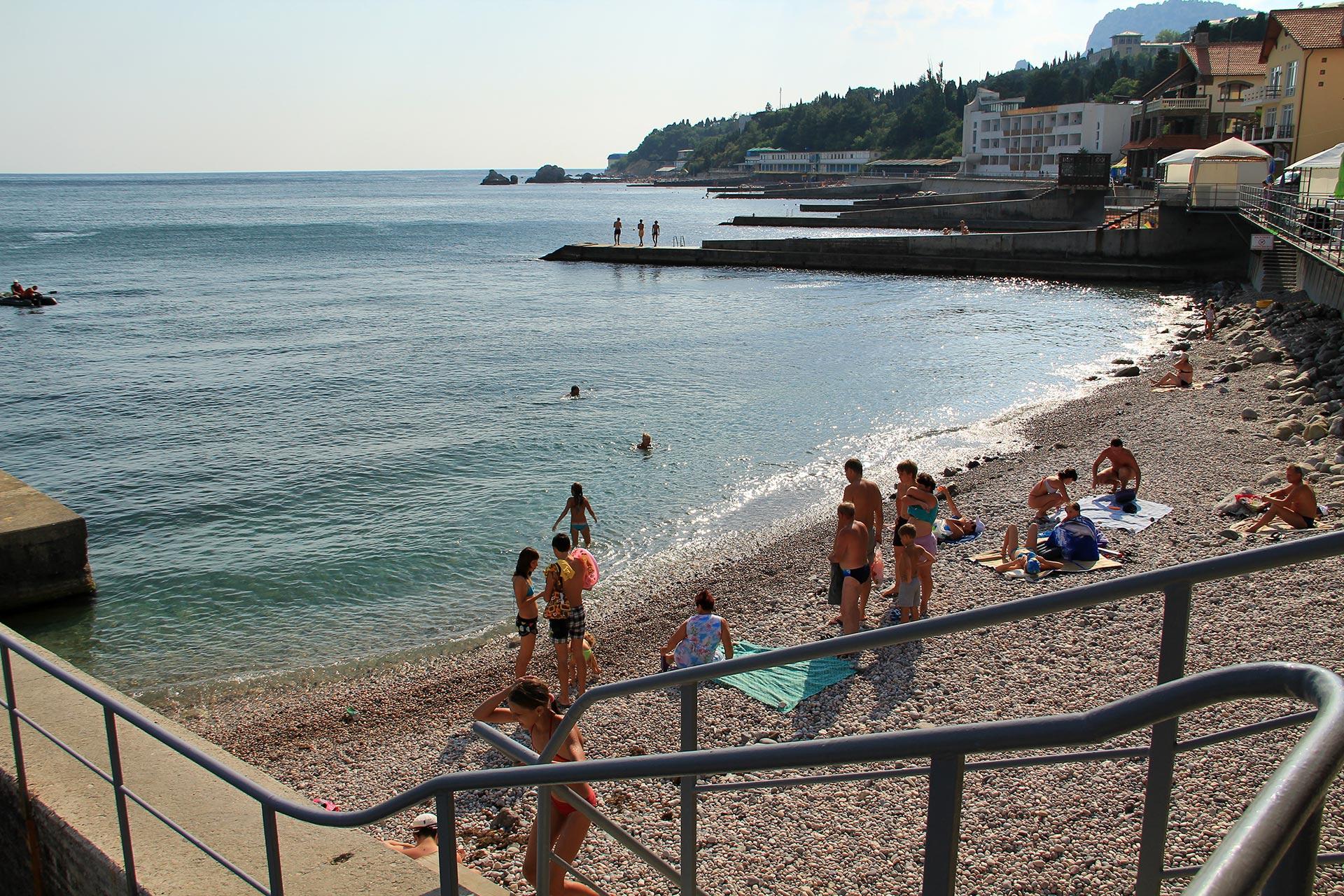 Пляжи Симеиза Отдых в Крыму 19